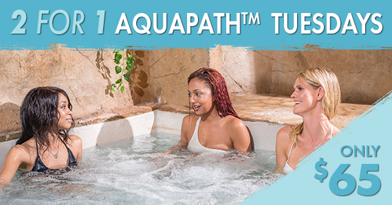 2 for 1 Aquapath Thursdays only $65